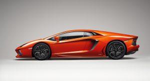 Artist impression of Lamborghini Aventador LP700-4