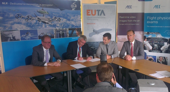 Signing of the EUTA Cooperation Agreement