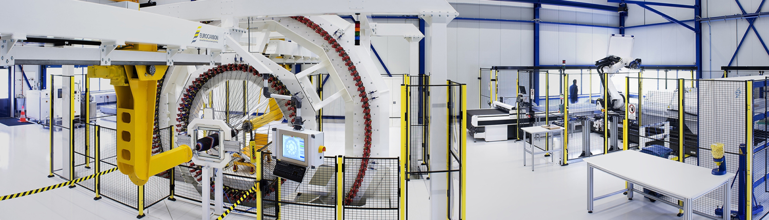 NLR's Advanced Composite Manufacturing Pilot Plant
