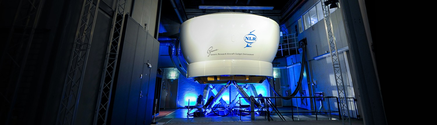 NLR's research flight simulator - GRACE