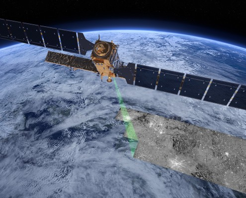 © ESA/ATG medialab - Sentinel-1 radar vision