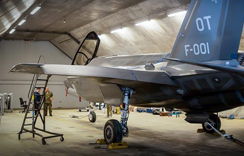 Hardened aircraft shelters on air force bases in the Netherlands