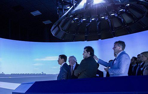 UAE ministry visit NLR Narsim Tower