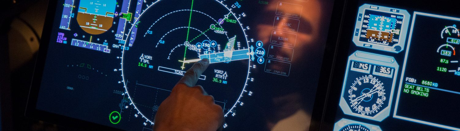 Interactions between the pilot and the cockpit equipment