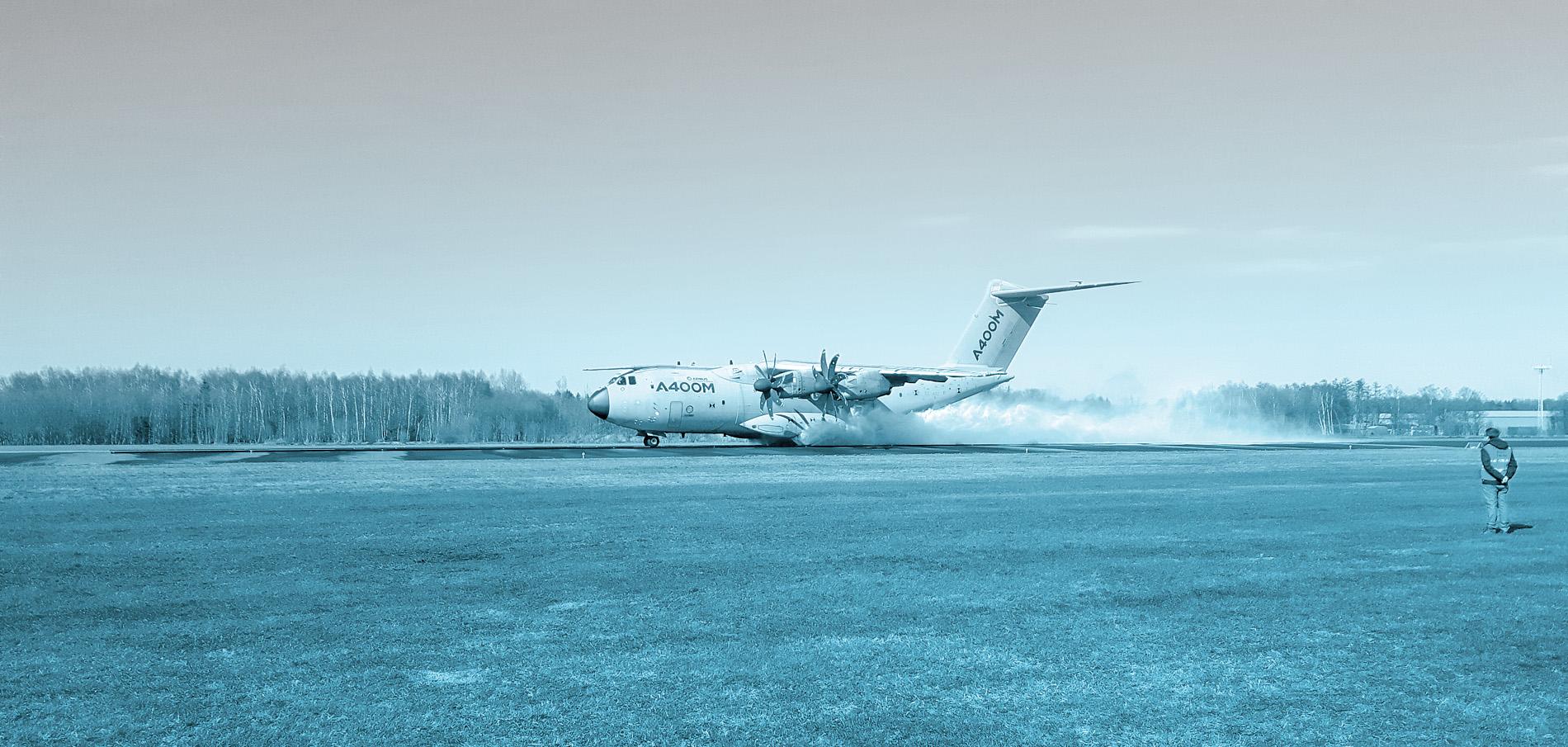 Nlr Tests Airbus On Waterlogged Runway At Twente Airport Nlr