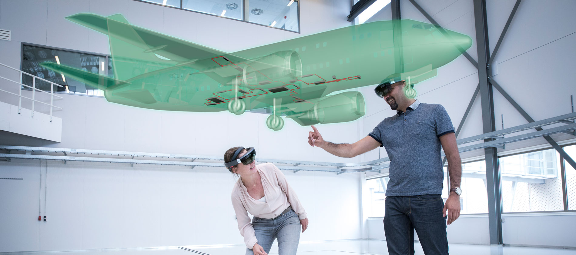 Augmented reality taking off in mro training netherlands for Augmented reality