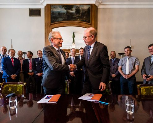 The Netherlands and Norway join forces in space