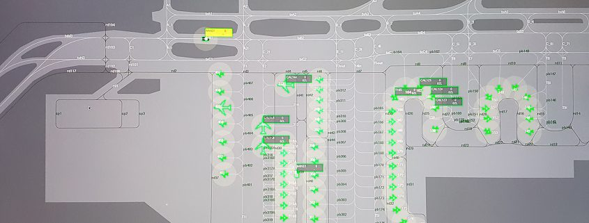 Taxiway Conflict and Area Intrusion Detection