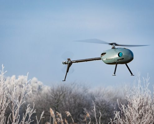 ©DelftDynamic- Unmanned RH3 Swift helicopter