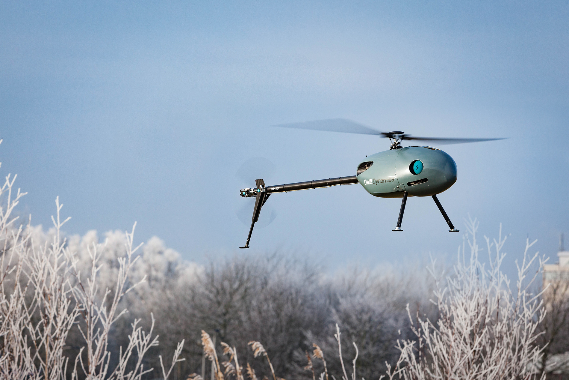 NLR contributes to research into unmanned helicopter-ship