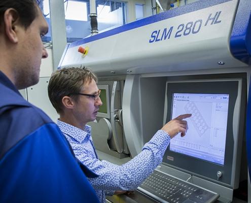 3D metal printing at NLR