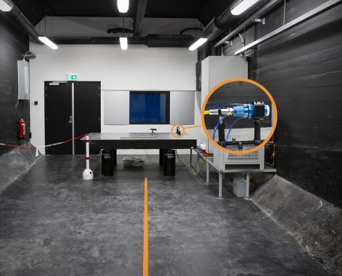 NLR - High Energy Laser (HEL)-lab