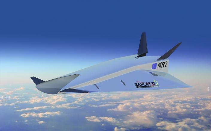 LAPCAT-MR2 Hypersonic Cruiser Concept