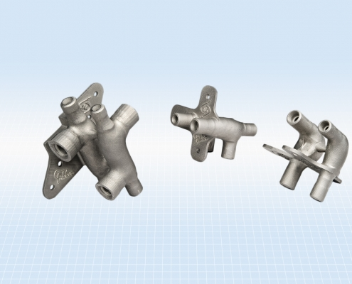 Optimised hydraulic manifolds